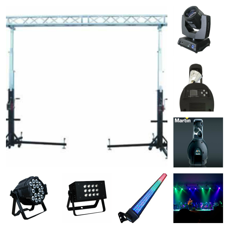 STAGE & LIGHT PACKAGE